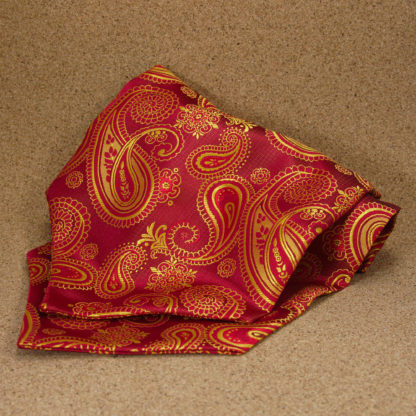 Ascot Krawattenschal rot/gelb