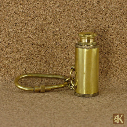 Fernglas Schlüsselanhänger Messing
