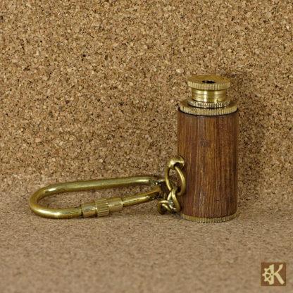 Fernglas Schlüsselanhänger Holz