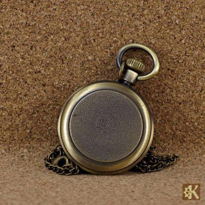 Taschenuhr ohne klappe, klein, rund